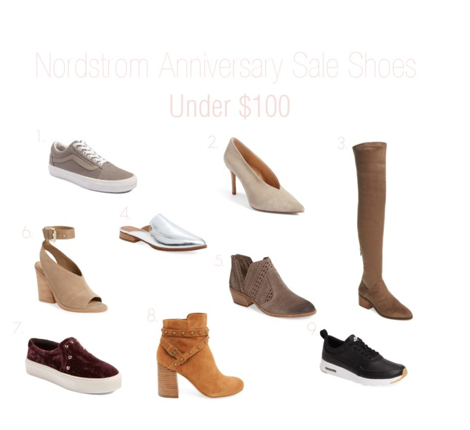 nordstrom anniversary. shoes under $100. sale shoes. nordstrom anniversary sale shoes